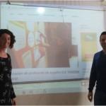 Silvia y Victor, formación de profesores de ELE