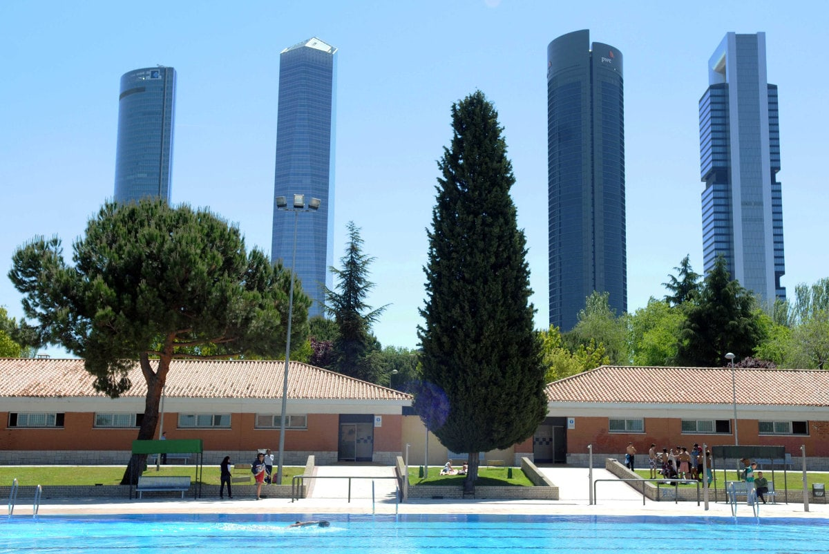 Llega el calor sitios para refrescarse en madrid tandem for Piscinas en madrid centro