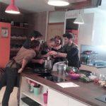 Bellepierre, clase de cocina