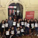 Gruppo del Liceo Linguistico, aprile 2017