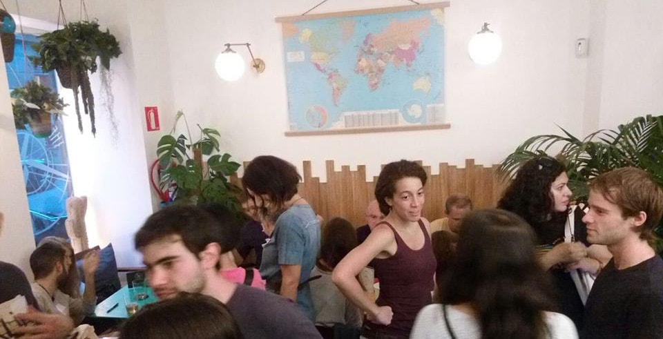 Intercambio de idiomas en The Traveller Madrid, Mayo de 2017
