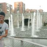 Luis Lima de Sousa nas ruas de Madri