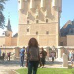 Mayra Cabral no Alcázar de Segovia