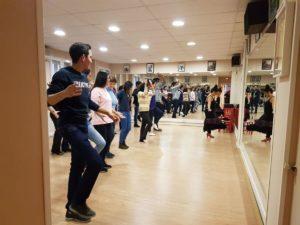 Grupo Viamundo, 2017, aula de Flamenco