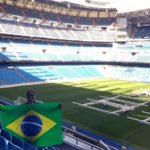 Vitoria Lima, no Bernabéu: Brasil!
