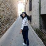Ellien Barbosa, rua perto de El Escorial