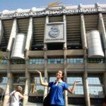Ellien Barbosa, Estádio Santiago Bernabéu