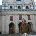 Lucas Pereira, em um passeio de Madri