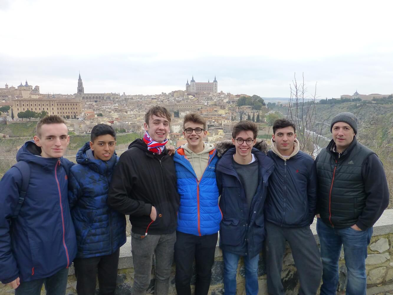 Visit of students of Manchester Grammar School, Excursions