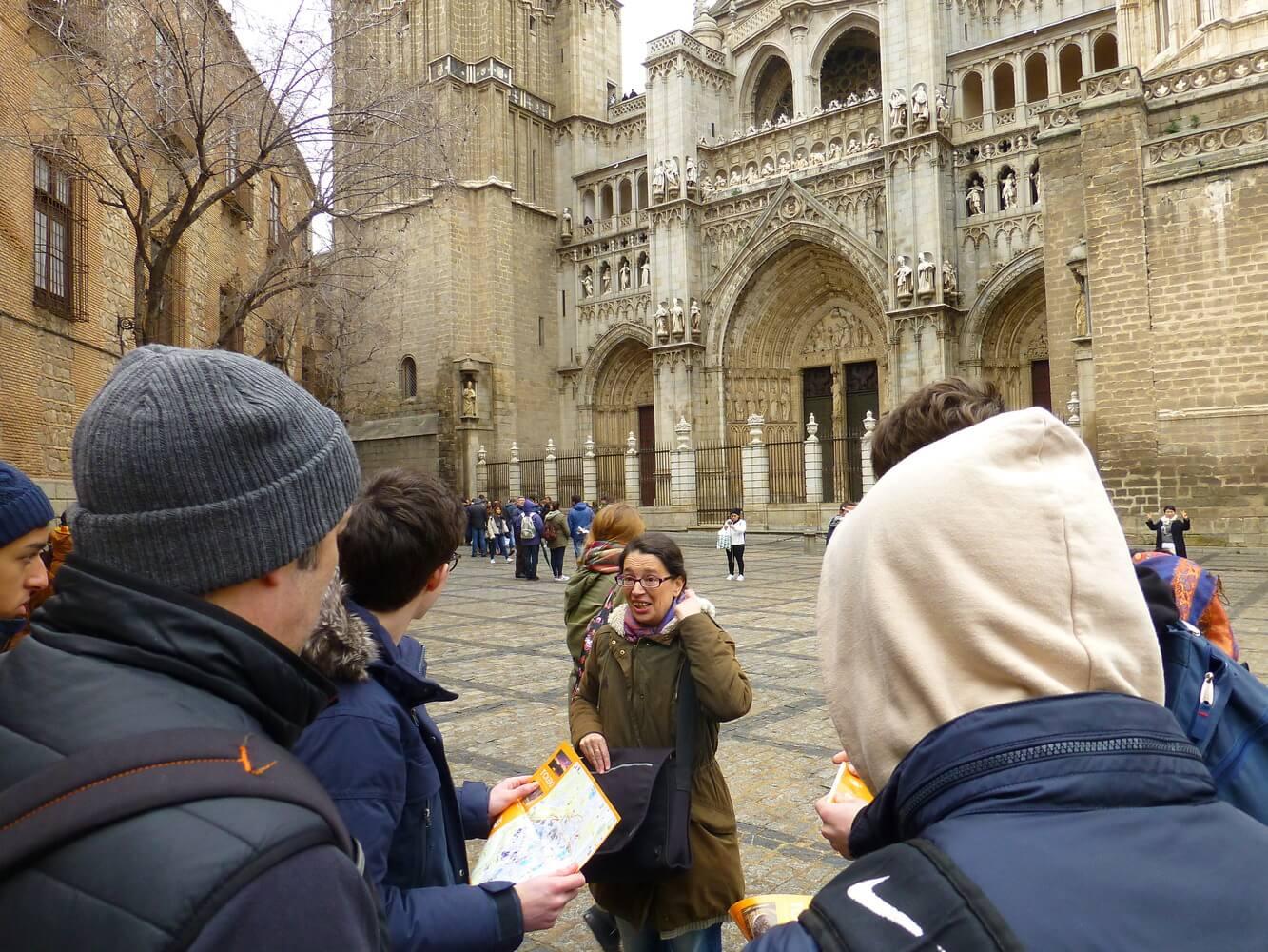 Visit of students of Manchester Grammar School, Tourism in Toledo
