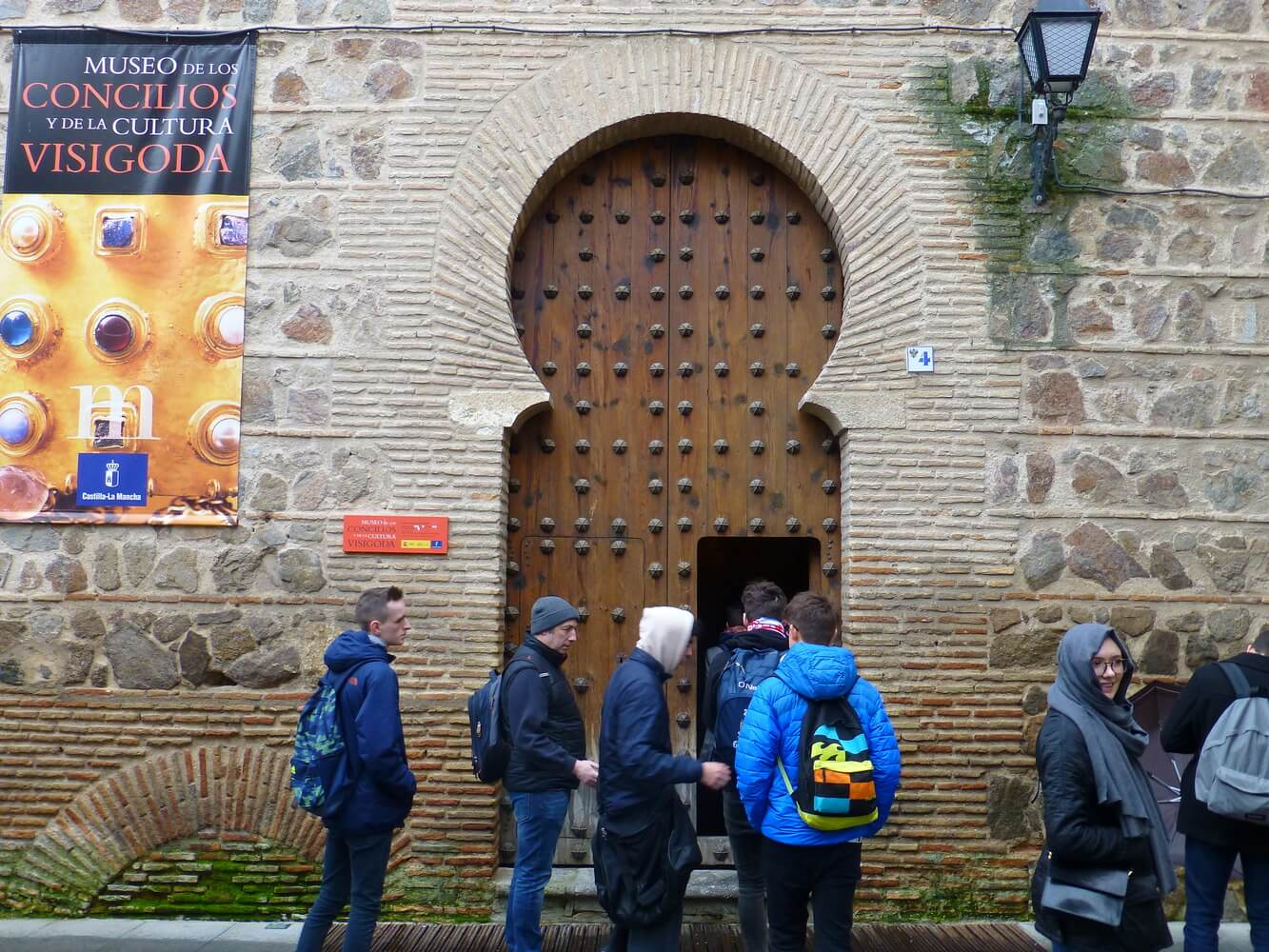 Visit of students of Manchester Grammar School, Museum of Visigothic Councils and Culture