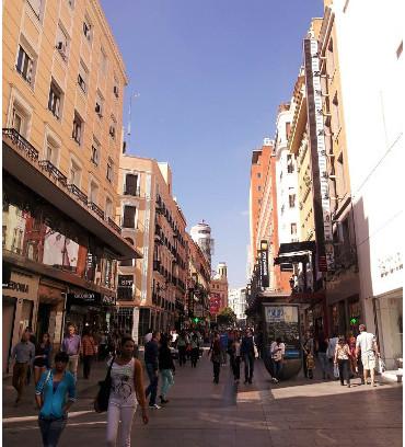 Regular life in Madrid
