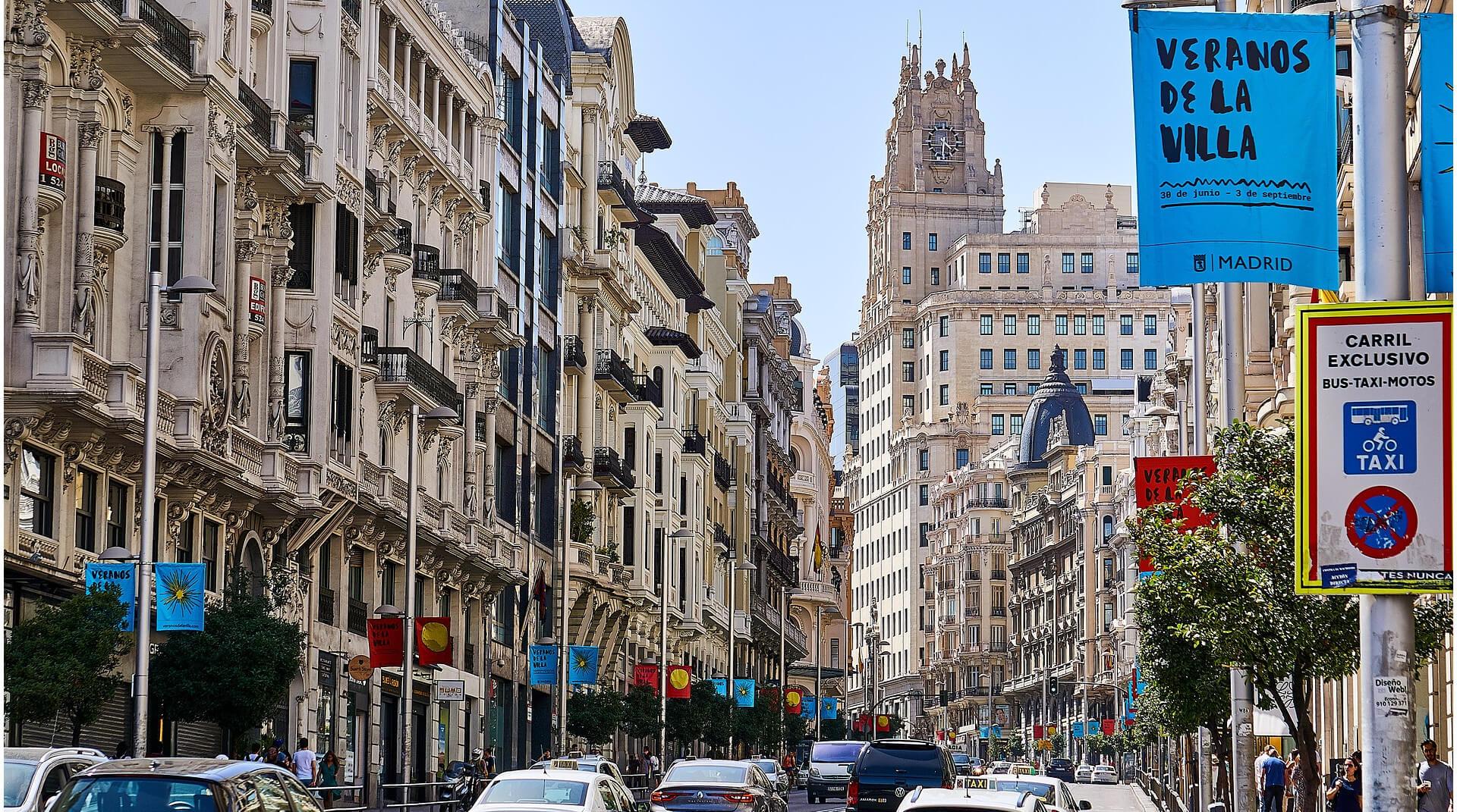 Cultural program in Madrid