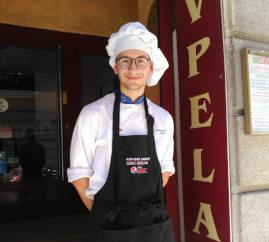 Estudiante del curso español y prácticas en hostelería