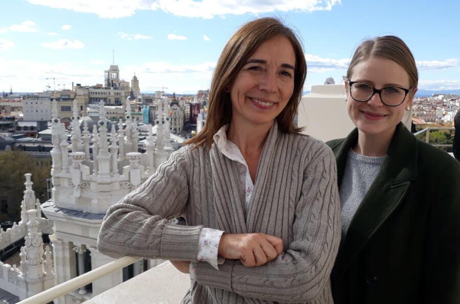 Testimonio de Tania y María sobre intercambio TANDEM