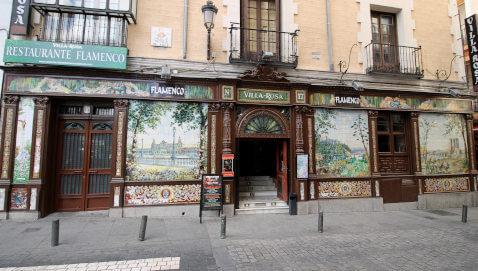 Café cantante en Madrid