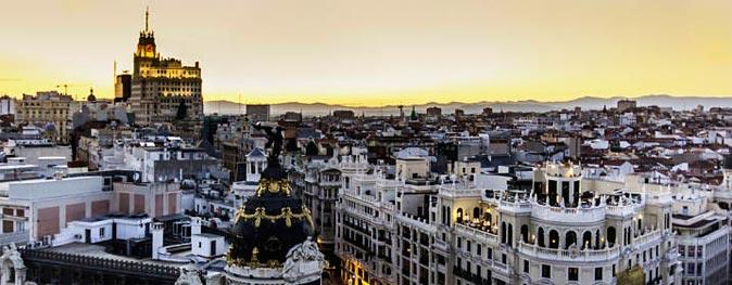 Spanisch und die Leidenschaft für Madrid und Seine Stadtteile