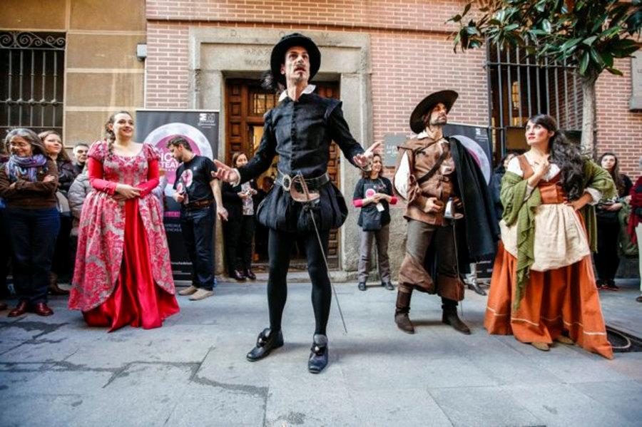 Fiesta de Cervantes Barrio de las Letras