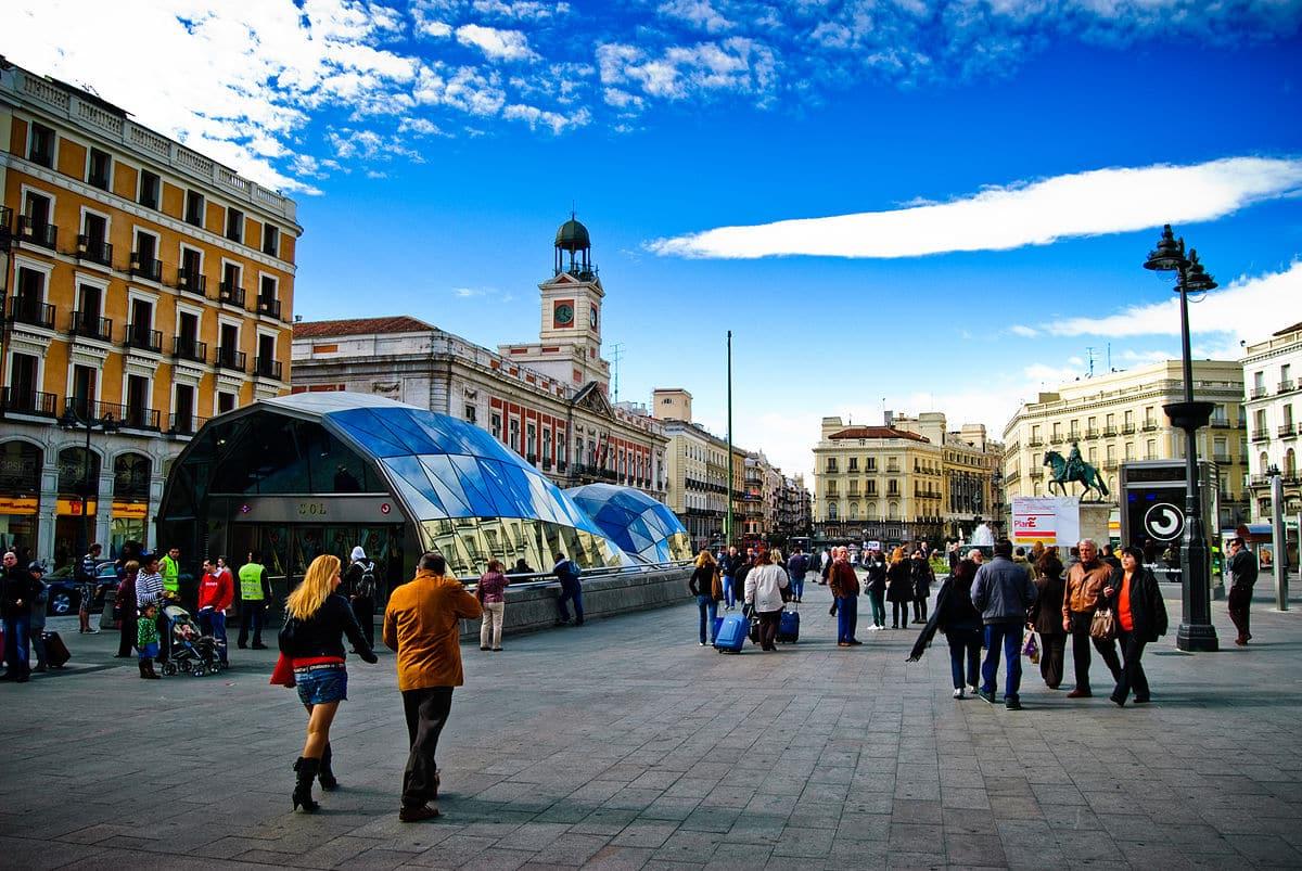 Puerta el Sol Madrid