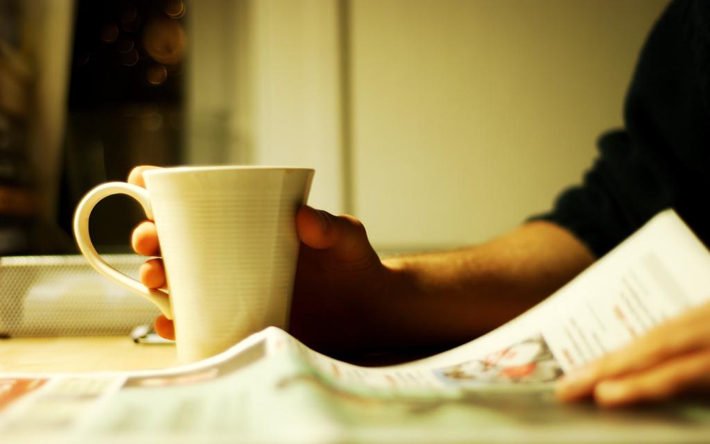 Café y noticias