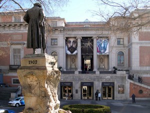 Museo del Prado, estatua de Goya