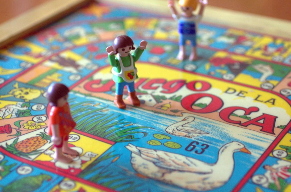Juegos de la Oca, juegos de mesa españoles