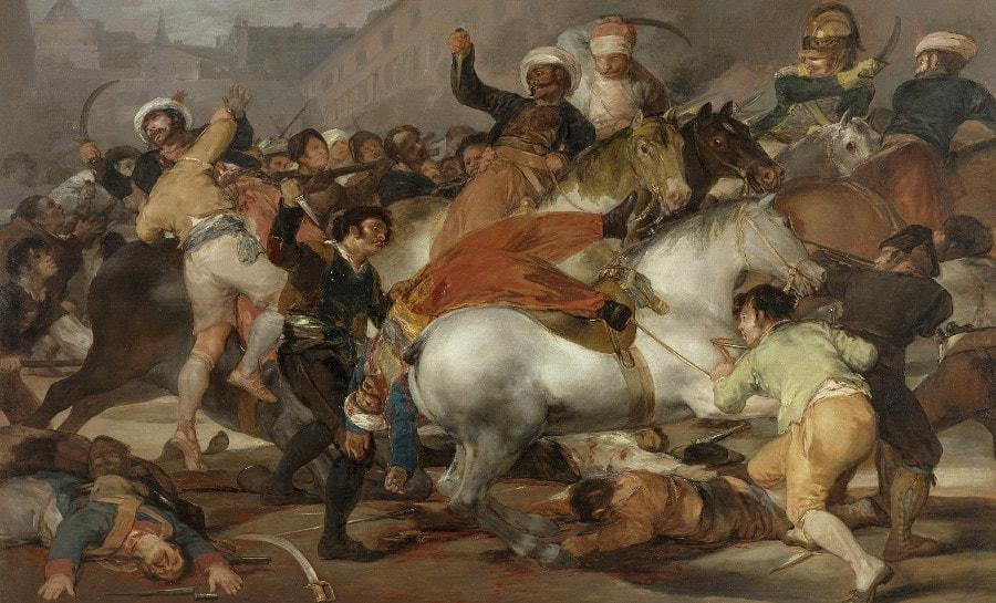 Francisco de Goya, Carga de los Mamelucos