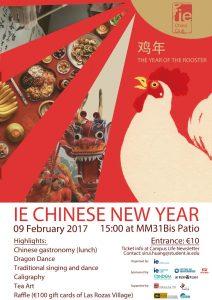 Año Nuevo chino en IE China Club: programa
