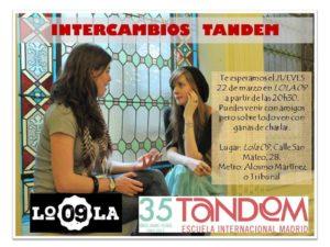 Intercambio idiomas Lola 09, 2018-03