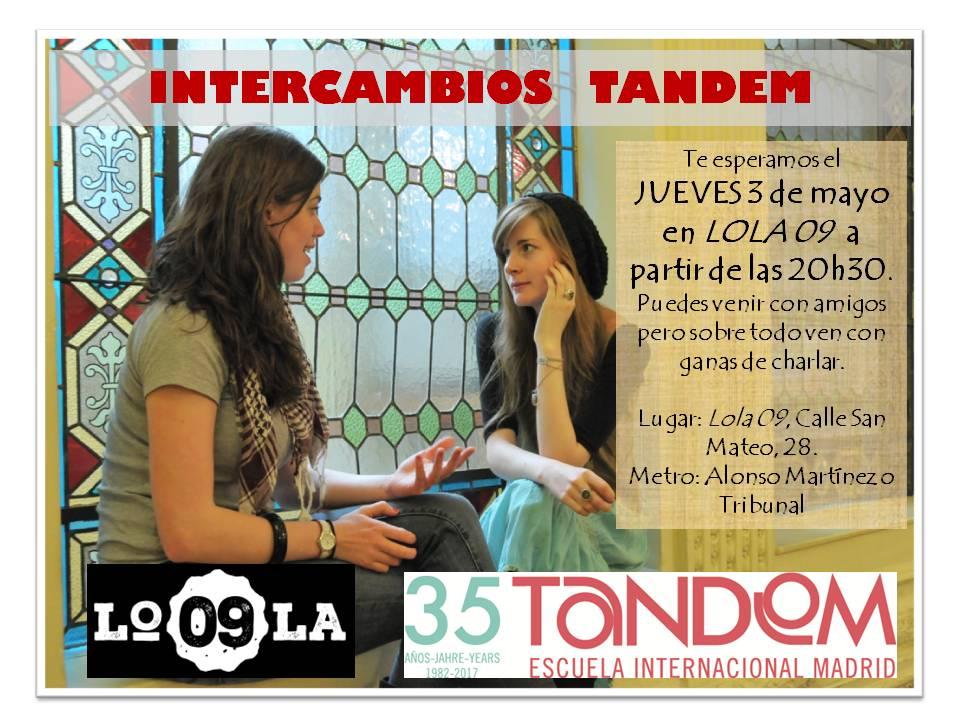 Intercambio de idiomas en Lola 09