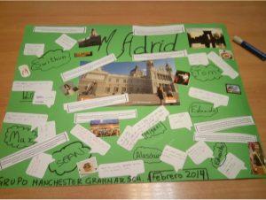 Madrid en subjuntivo: actividad para clase de ELE, mural