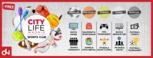 Citylife - Actividades deportivas en Madrid