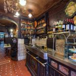 Old taverns in Madrid
