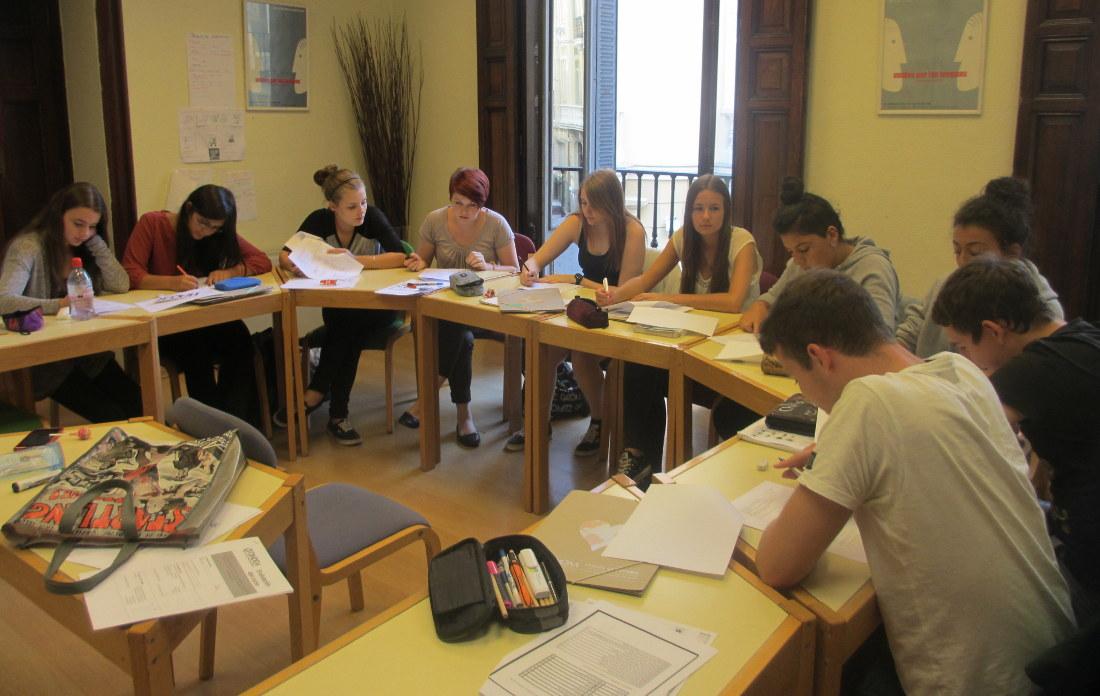 Cours d'immersion en espagnol à Madrid