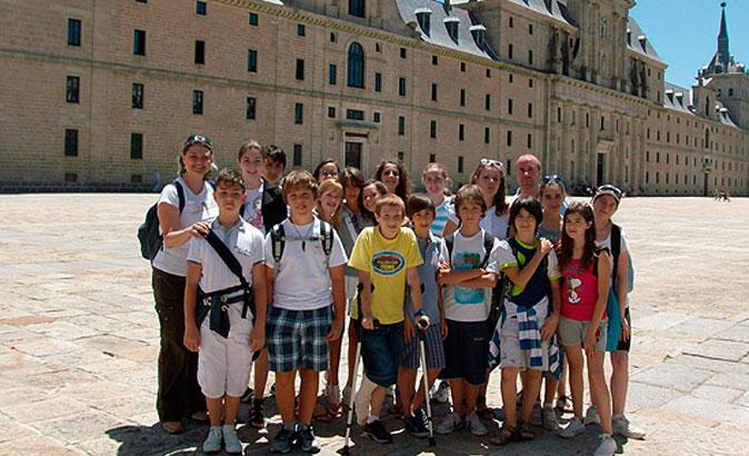 Cours d'été d'espagnol pour juniors à El Escorial (âgés de 12 à 15)