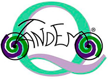 Tandem vélo : Symbole de Tandem Madrid