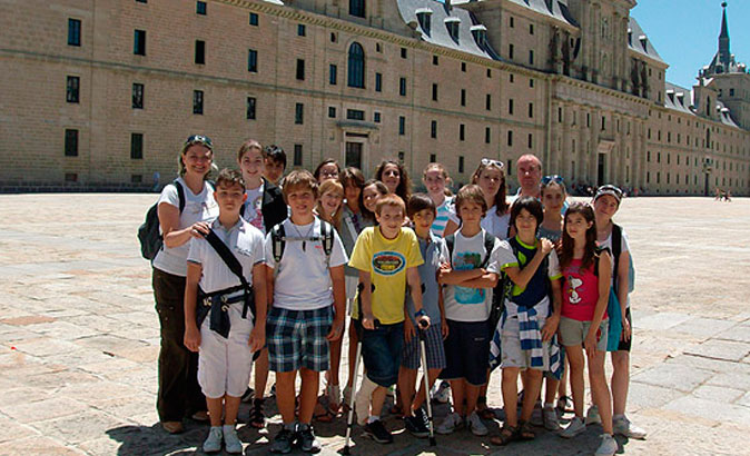 Summer Junior Spanish Course in El Escorial