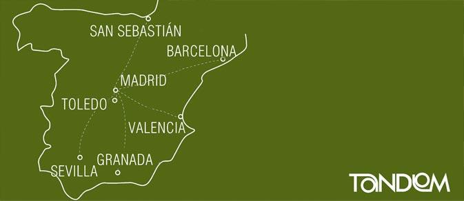 2 Spanische Städte Kombiniert