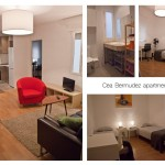 collage appartement partagé