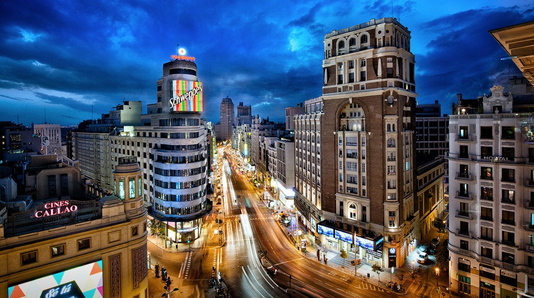 Gran Via Madrid