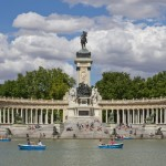 The pond at El Retiro, Madrid