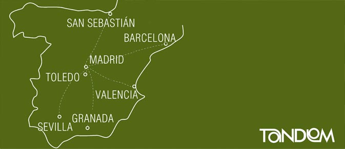 Spanish Course travelling by Spain