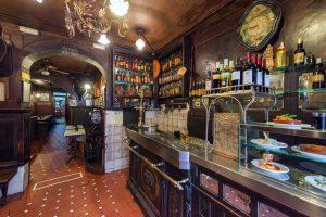 Old taverns in Madrid