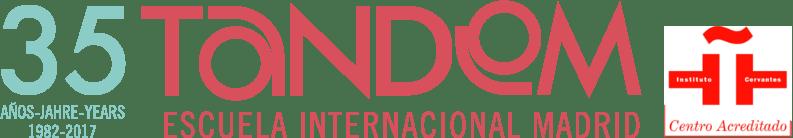 TANDEM Madrid Spanish school. Spanish Courses in Madrid, Spain