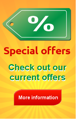 Special offers for Spanish courses and accommodation
