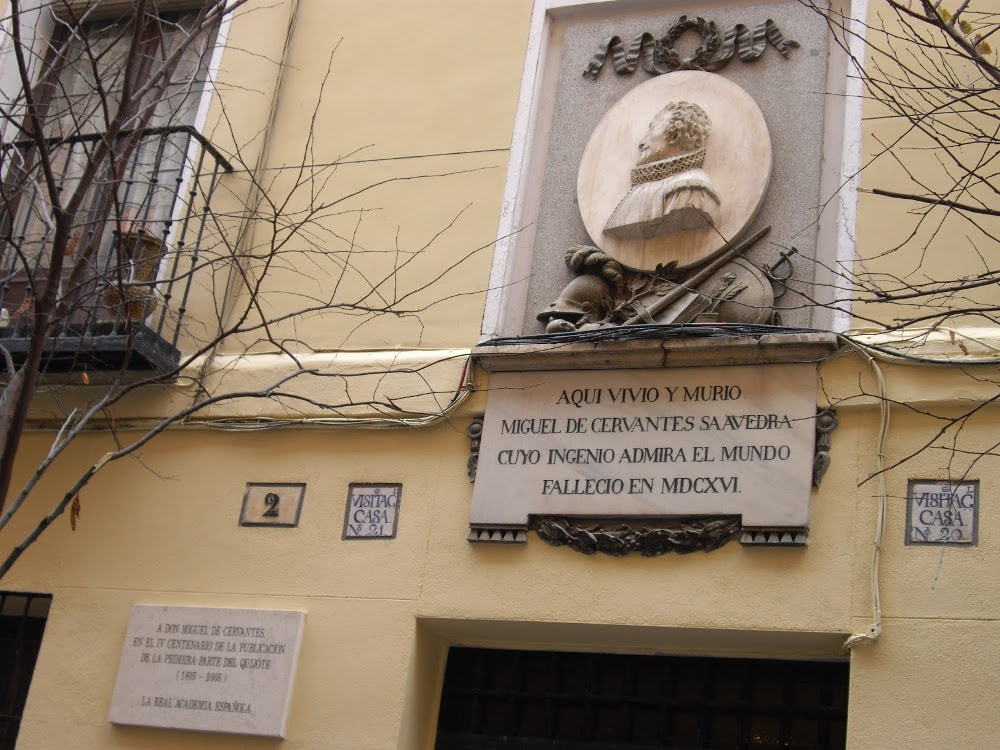 Miguel de Cervantes house in Madrid