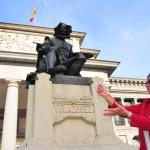 Velazquez Statue, TANDEM Madrid