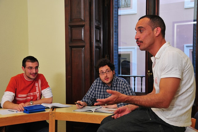 Spanish evening course: 2 days a week