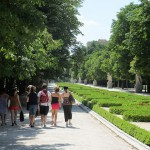 Walking in El Retiro, Madrid