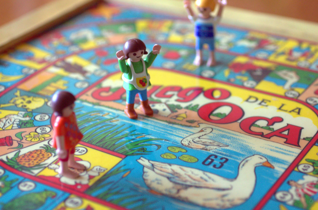 Spanish games: La Oca